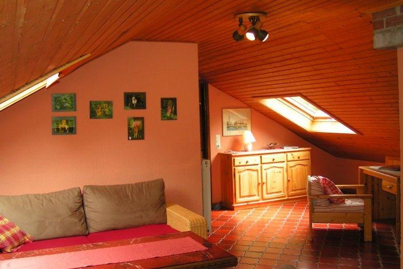 Ferienhaus forstgut lauksburg ferienhaus in lorch for Wohnzimmer dachgeschoss