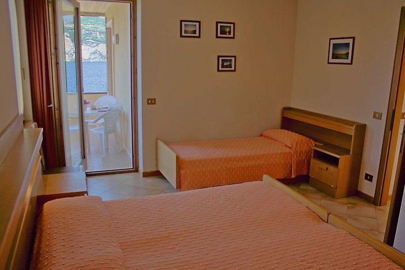 Schlafzimmer 2-Zimmerappartement
