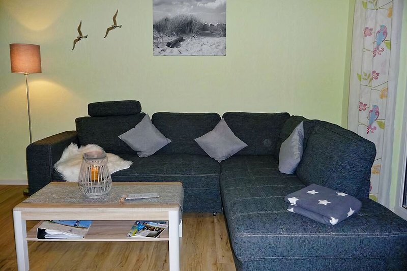 gemütliche Couch-Wohnlandschaft