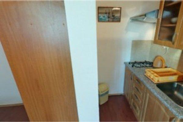 Küche in den Suites