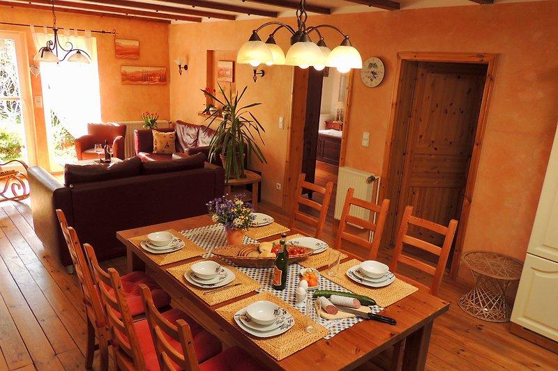 Wohn- und Kochbereich
