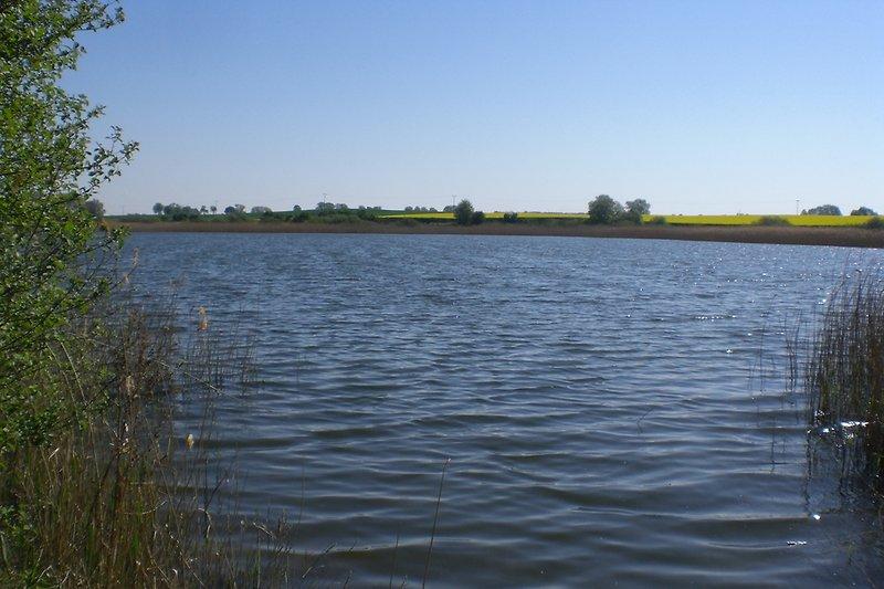 See zum Baden in der Nähe von Crussow
