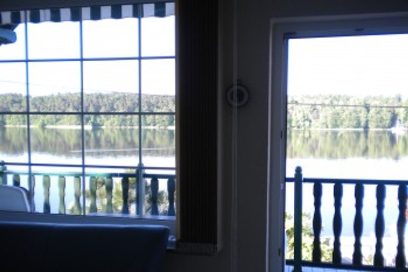 Blick von Wohnzimmer