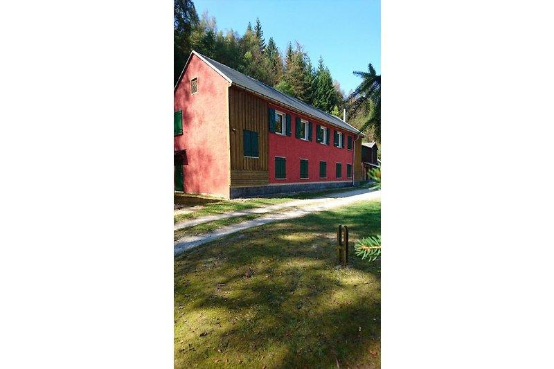 Sommer Gruppenhaus Schwarzatal
