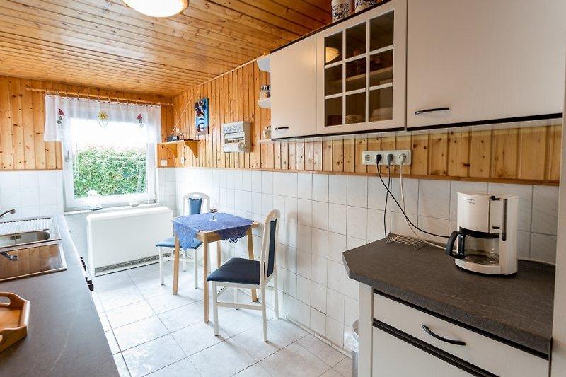 Küche Ferienwohnung Kölpinsee