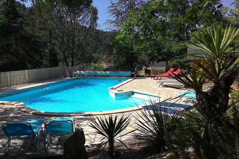 geheizter Pool 11 x 6 m