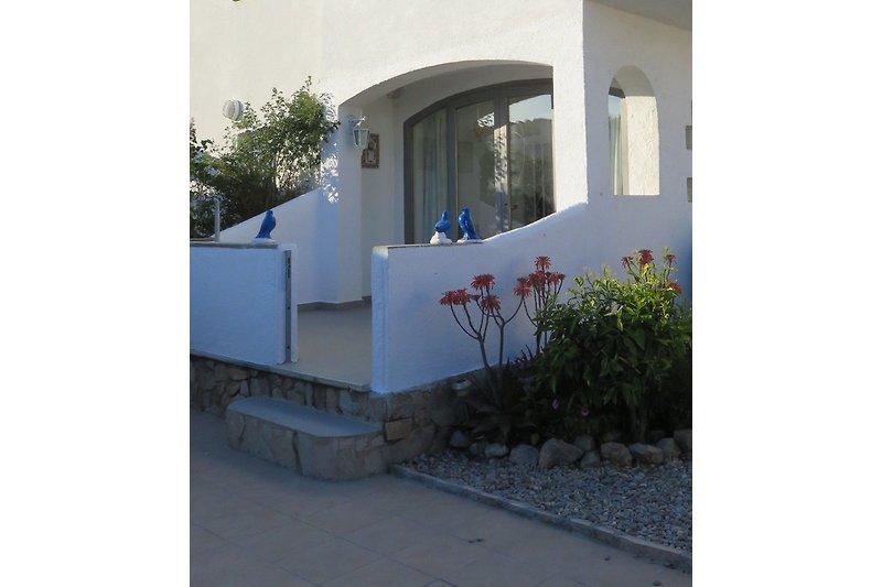 Terrasse-Eingang EG