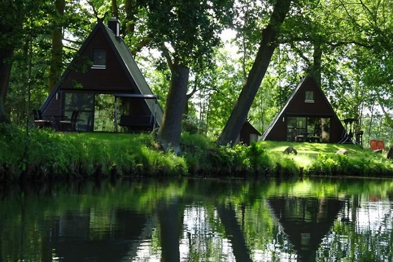 Lutki-Paradies - Blick vom Fließ