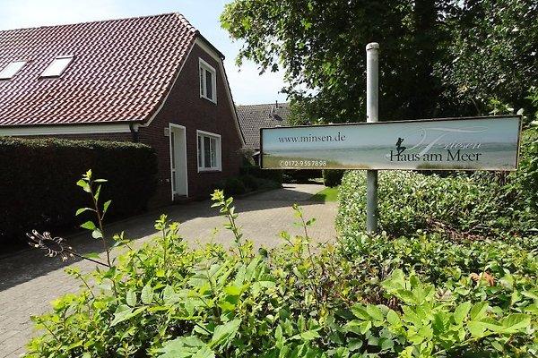 Friesenhaus, Einfahrt mit 2 Parkplätzen