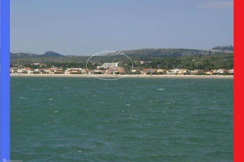 Die Residence ab Mittelmeer