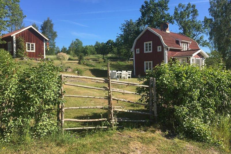 Grundstück mit Haus und Scheune