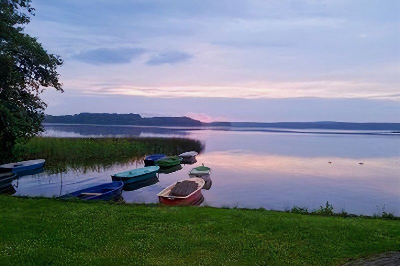 Klein Pritzer See Sonnenuntergang
