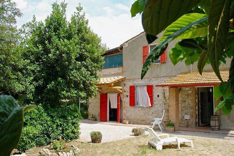 das Ferienhaus Campi al Mare