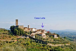 """Casa Leila"" is a romantic house in Larciano Alto in the province of Pistoia near Vinci. Larciano Alto is a picturesque, medieval village."