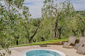 """The pretty cottage """"Oliveta"""" is above Larciano and near the picturesque medieval hamlet of Larciano Alto near Montecatini Terme."""