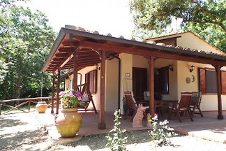 "The cottage ""Casa Sole"" is situated in the holiday resort ""Il Faro del Castelluccio 'in the municipality of Monteverdi Marittimo."