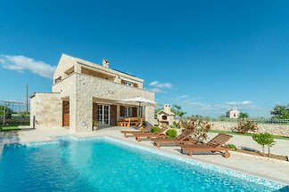 Romantic stone house Nina with pool