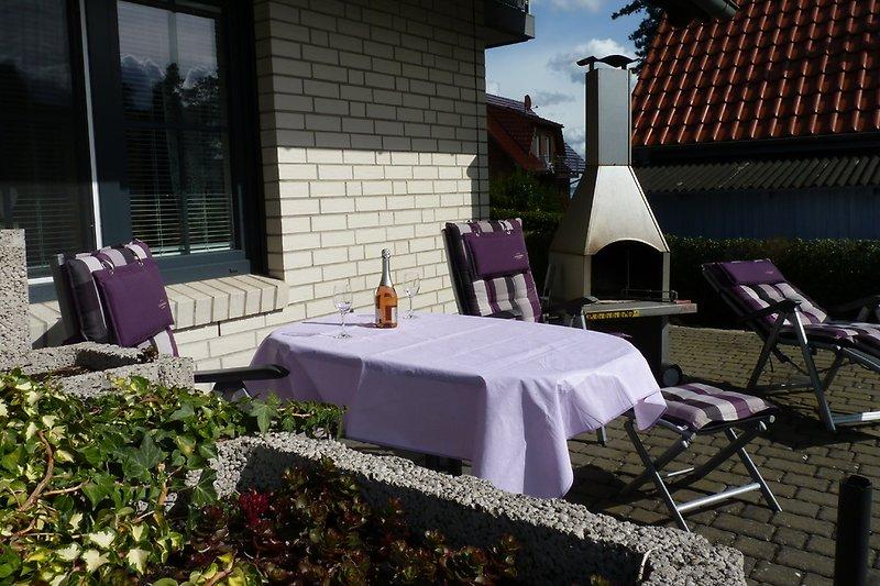 Terrasse für EG