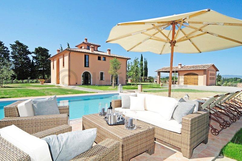 Villa avec piscine à Montelopio - Image 2