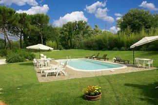 Ferienhaus max 20 Personen mit Pool