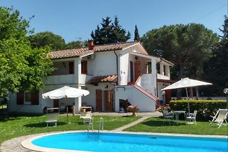 Villa near Pisa (6+2 beds)