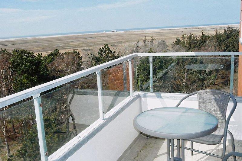 Balkon mit grandiosem Ausblick