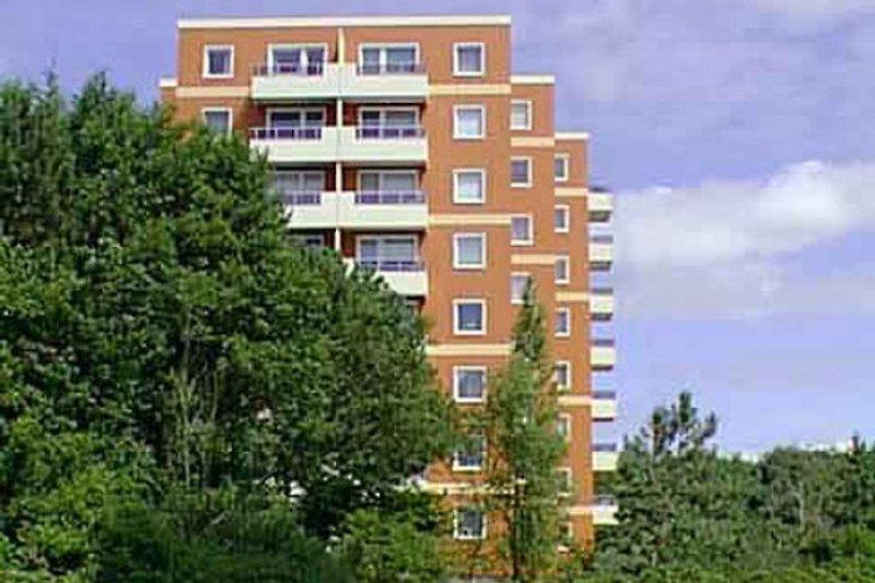 Ansicht des Apartmenthauses