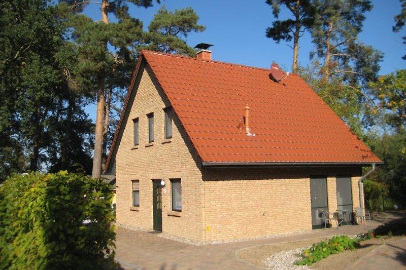 Ferienhaus Müritzblick - ruhige Lage am Ende einer Sackgasse