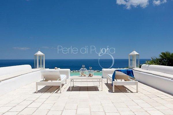 Villa Fanò mit Privatpool in Castro Marina - Bild 1