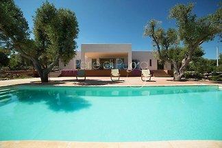Villa con piscina privada Lisy