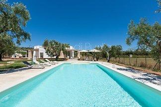 La casa con piscina Serrazza