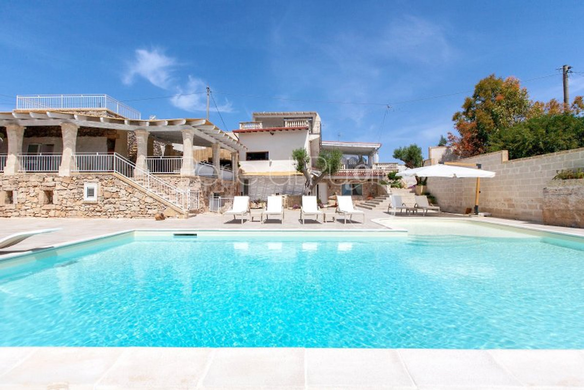 Villa velia with large private pool holiday home in santa maria al bagno - Santa maria al bagno ...