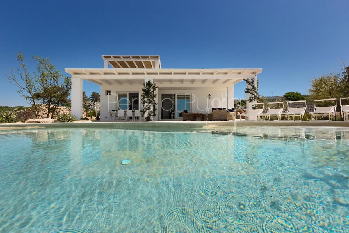 Villa leucana con piscina privata casa vacanze in santa - Villa con piscina santa maria di leuca ...