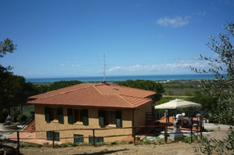 Casa Franco mit Meerblick