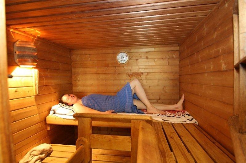 Sauna zur privat nutzen