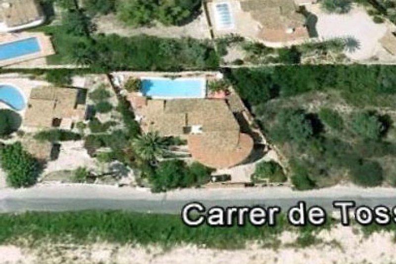 Casa Tossals (Google Earth)