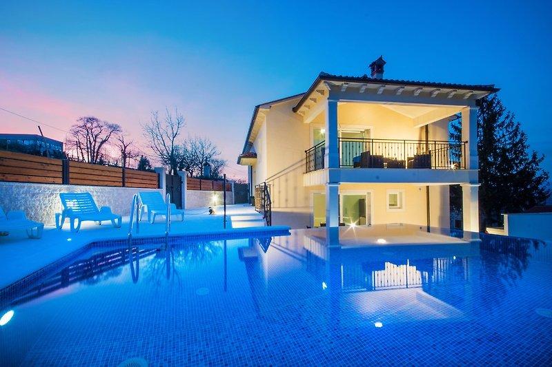 Warme und romantische Sommernächte in Istrien