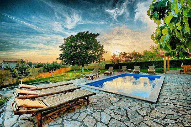 Willkommen in der Villa Blaž