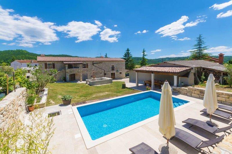 Villa Šterna - warm, ruhig und privat