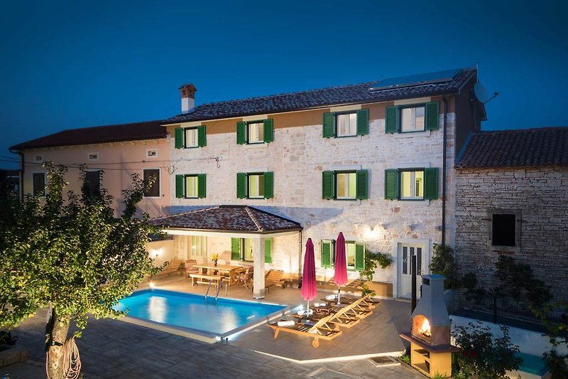 Die Villa Karla mit Privatem Pool