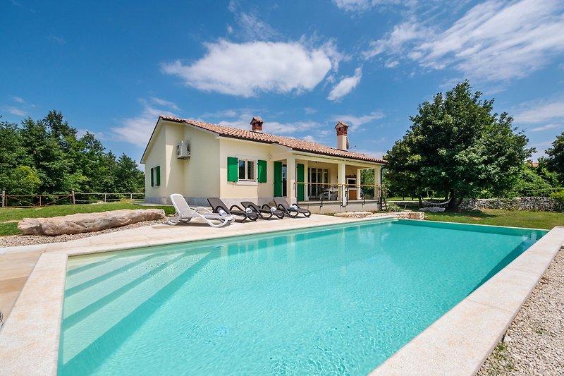 Die Villa Patricija - ein Juwel im Herzen Istriens