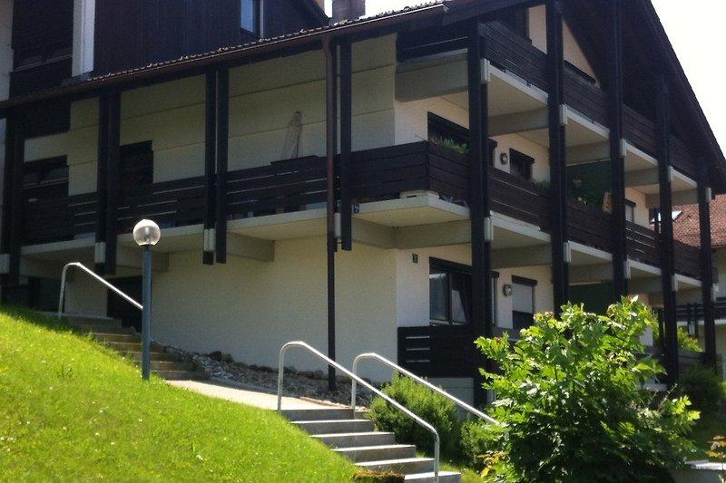 Haus-Vorderfront