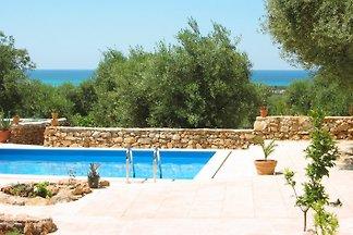 Villa Blumare avec vue sur la mer