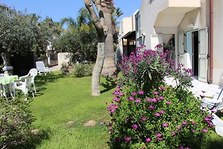 Villa with private pool for 7 persons on a large garden area near the sea with 3 bedrooms, 2 bathrooms, satellite TV, Internet - wireless, fireplace and central heating