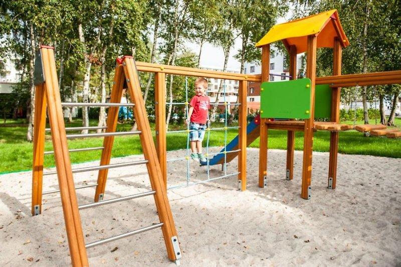 Der Kinderspielplatz