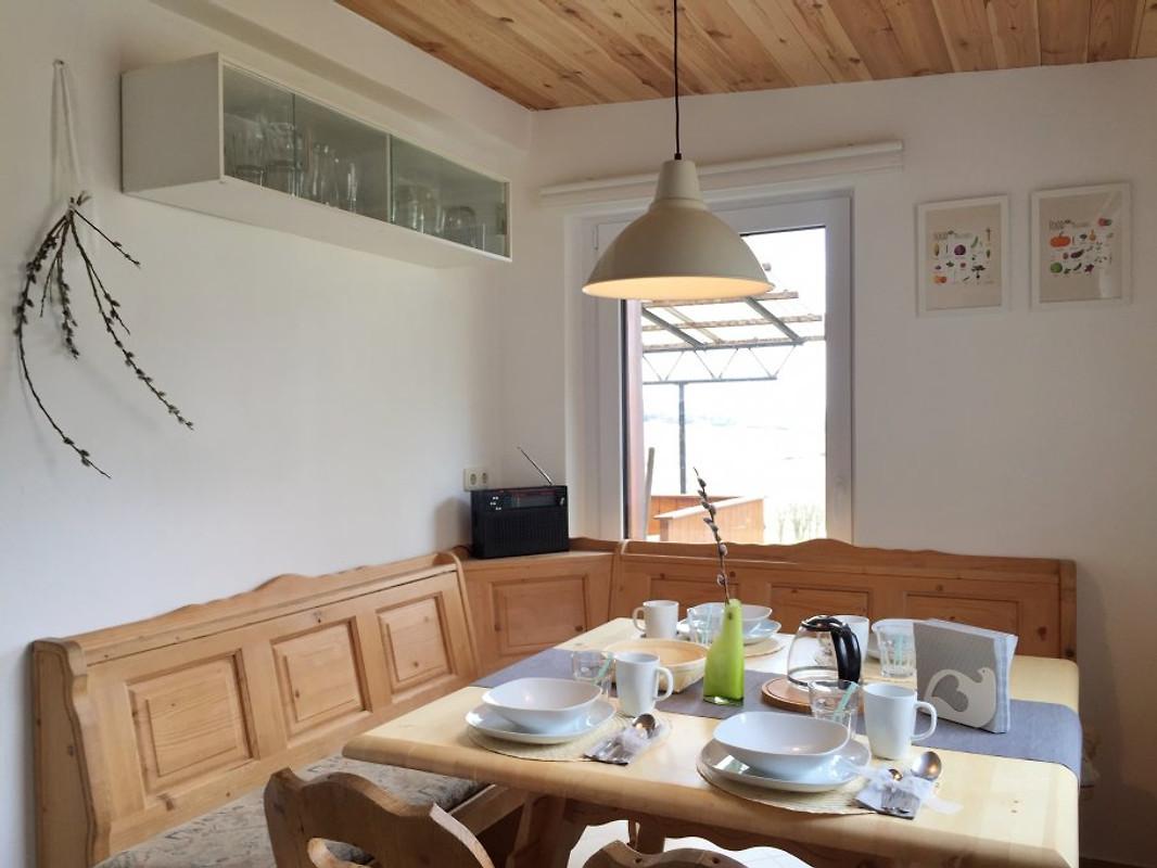 haus am see ferienhaus in r mhild mieten. Black Bedroom Furniture Sets. Home Design Ideas