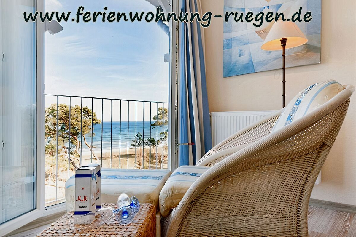 fewo meerblick direkt am strand ferienwohnung in binz mieten. Black Bedroom Furniture Sets. Home Design Ideas