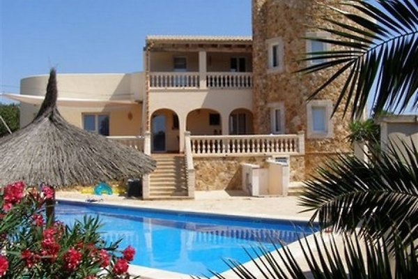 Apartamentos en alquiler con piscina en Cala Santanyi -  1