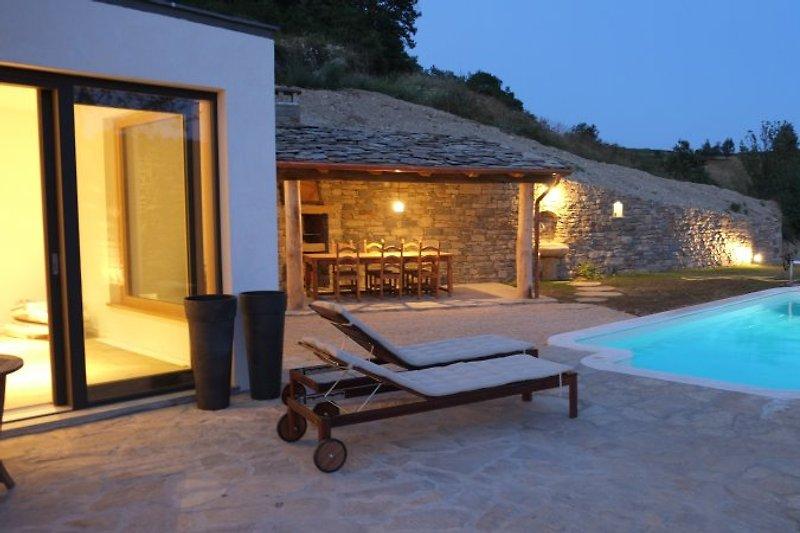 Terrasse/BBQ-Area/Pool