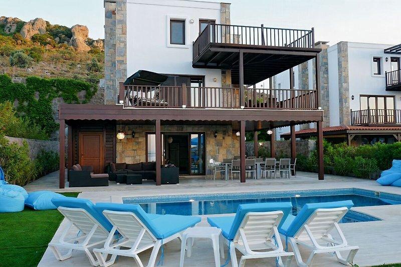villa Melegim mit priv. pool Bodrum in Gündogan - Bild 2
